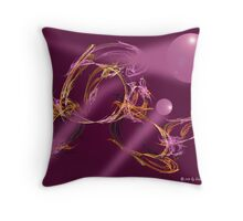 Casting Pearls Throw Pillow