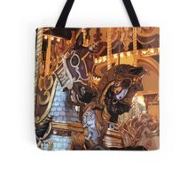 The Golden Age of The Carousel Tote Bag