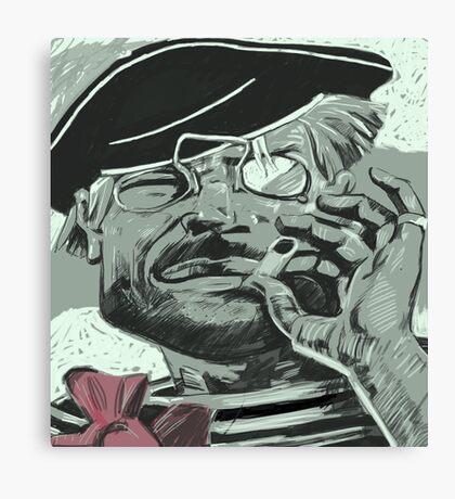 Anarchist Sailor Canvas Print
