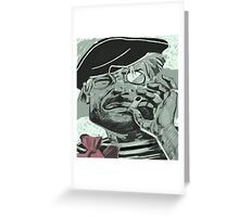 Anarchist Sailor Greeting Card