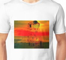 Lonely woman's sunset vision 10 02 2015 Unisex T-Shirt