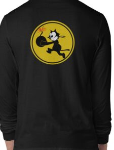Fighting 31 'Tomcatters' Badge Long Sleeve T-Shirt