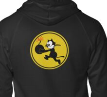 Fighting 31 'Tomcatters' Badge Zipped Hoodie