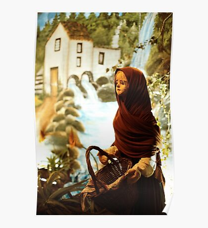 Young nordic girl Poster