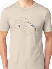 Herbie — The Love Bug Unisex T-Shirt