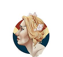 Carol Danvers doesn't like flowers in her hair kthxbai by jlybelly