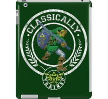 classically trained link iPad Case/Skin