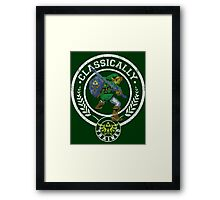 classically trained link Framed Print