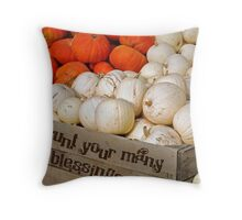 Overflow Of Blessings Throw Pillow