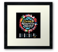 Drink Around the World - EPCOT Framed Print