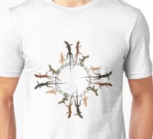 Lizard Zia Symbol Unisex T-Shirt