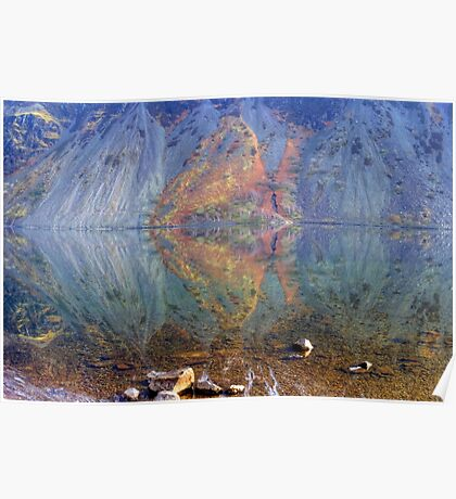 Wastwater Abstract Poster