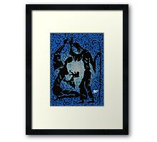 Mary, Jesus, Joseph Framed Print