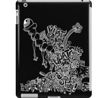 bluuuuub (white) iPad Case/Skin