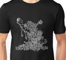 bluuuuub (white) Unisex T-Shirt