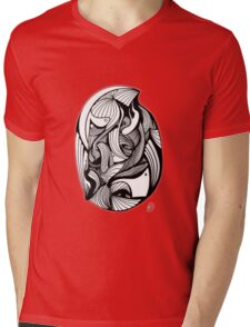 Abstract Moments 55 Mens V-Neck T-Shirt