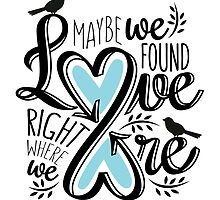 Love Is Right Where We Are - Blue by normannazar