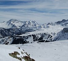 French Alps 3 by Sarah Verrall