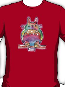 Cute Colorful Totoro! Tshirts + more! (watercolor) Jonny2may T-Shirt