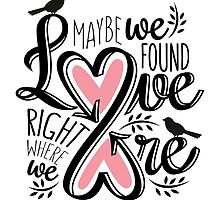 Love Is Right Where We Are - Pink by normannazar