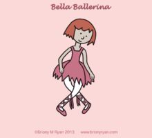 Bella Ballerina (curtsy) One Piece - Long Sleeve