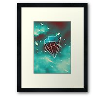 Geometry and Colors VI Framed Print