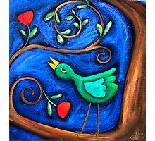 PASAREA  MAIASTRA  1  ( MIRACULOUS  BIRD  1 ) Photographic Print