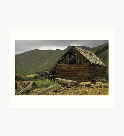Colorado Gold Rush Art Print