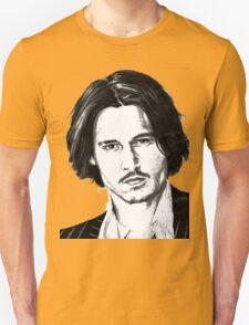 Johnny Depp portrait T-Shirt