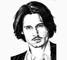 Johnny Depp portrait Unisex T-Shirt