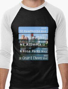 PDX Men's Baseball ¾ T-Shirt