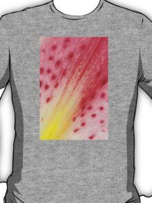 Abstract Macro Lily T-Shirt