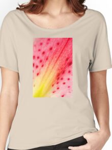 Abstract Macro Lily Women's Relaxed Fit T-Shirt