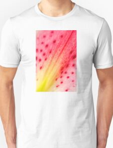 Abstract Macro Lily T-Shirt