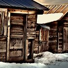 sheds in snow by dougf