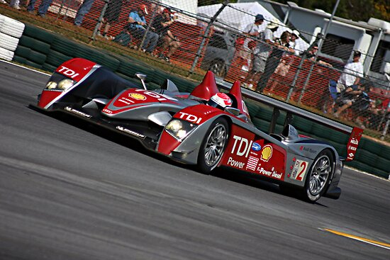 Audi LMP-1 - Road Atlanta 2008 by JohnGo