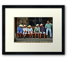 The New Guard Framed Print
