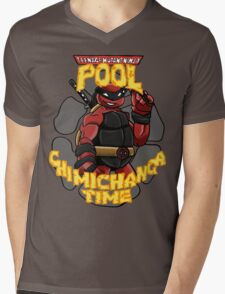 Teenage Mutant Ninja Pool! Mens V-Neck T-Shirt