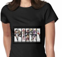 Alec's Mains (Super Smash Bros. 4) Womens Fitted T-Shirt