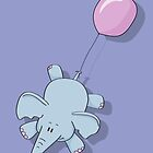 Flying Elephant by LucyOlver