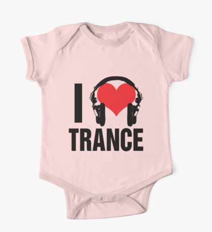 I Love Trance Music One Piece - Short Sleeve