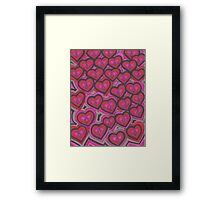 Love Flu Framed Print