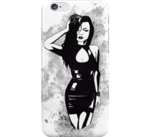 Monocrome Woman iPhone Case/Skin