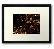 candle in the wind Framed Print
