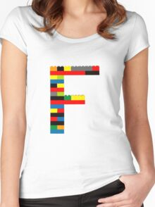 F Women's Fitted Scoop T-Shirt