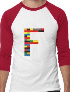 F t-shirt Men's Baseball ¾ T-Shirt