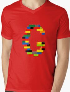F Mens V-Neck T-Shirt