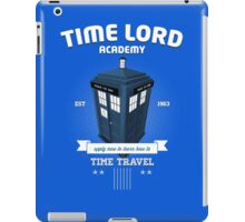 Timelord Academy iPad Case/Skin