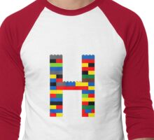 H t-shirt Men's Baseball ¾ T-Shirt