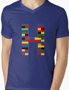 H Mens V-Neck T-Shirt